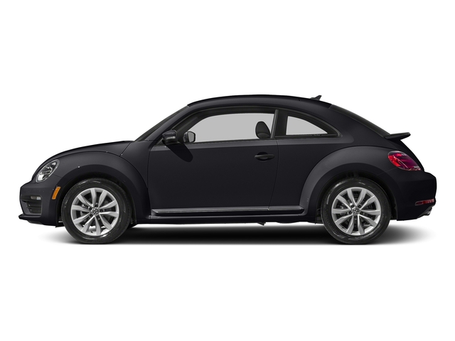 Deep Black Pearl 2017 Volkswagen Beetle Pictures Beetle 1.8T Classic Auto photos side view