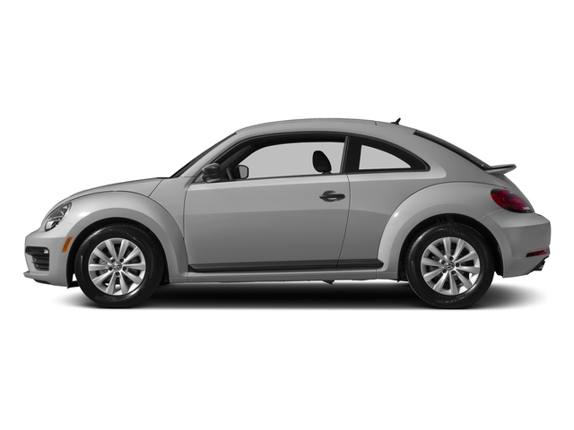 White Silver Metallic 2017 Volkswagen Beetle Pictures Beetle 1.8T SE Auto photos side view