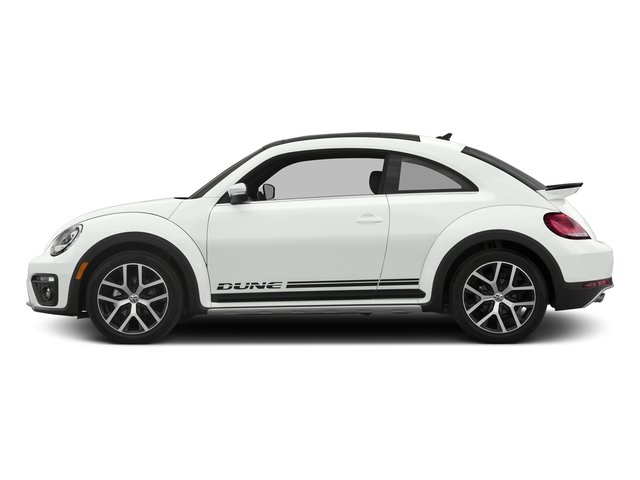 Pure White 2017 Volkswagen Beetle Pictures Beetle 1.8T Dune Auto photos side view