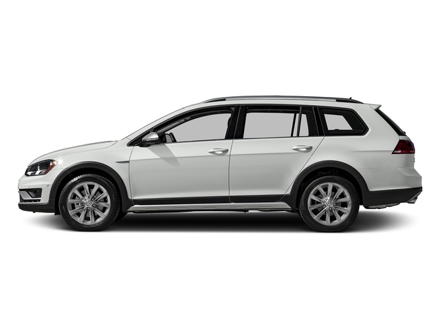 Pure White 2017 Volkswagen Golf Alltrack Pictures Golf Alltrack 1.8T SE Manual photos side view