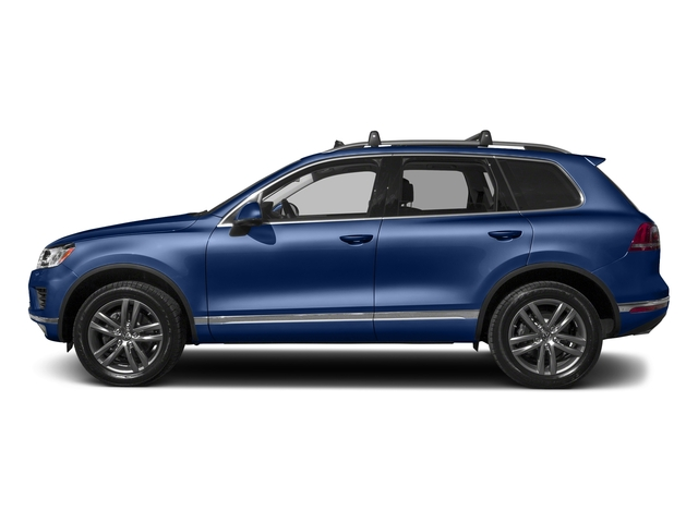 Reef Blue Metallic 2017 Volkswagen Touareg Pictures Touareg V6 Wolfsburg Edition photos side view