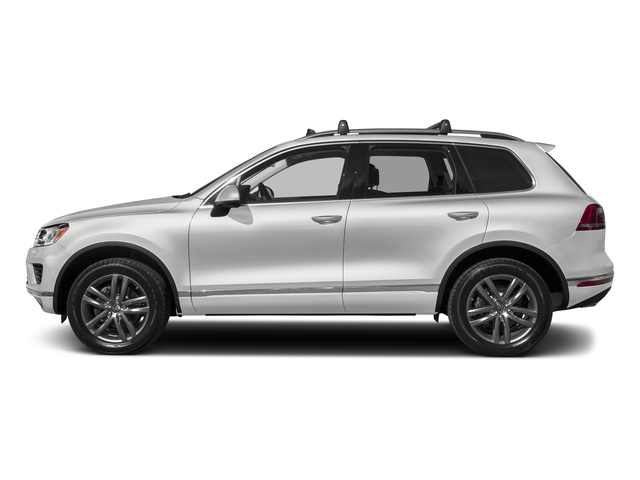 Pure White 2017 Volkswagen Touareg Pictures Touareg V6 Wolfsburg Edition photos side view