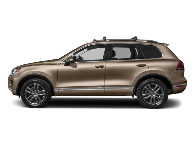 Sand Gold Metallic 2017 Volkswagen Touareg Pictures Touareg V6 Wolfsburg Edition photos side view