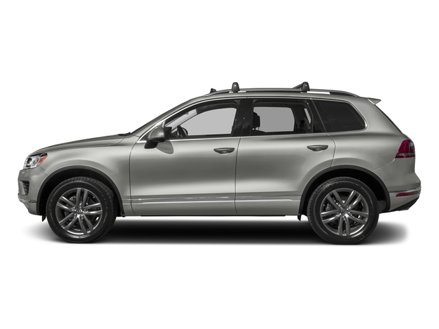 Canyon Gray Metallic 2017 Volkswagen Touareg Pictures Touareg V6 Wolfsburg Edition photos side view