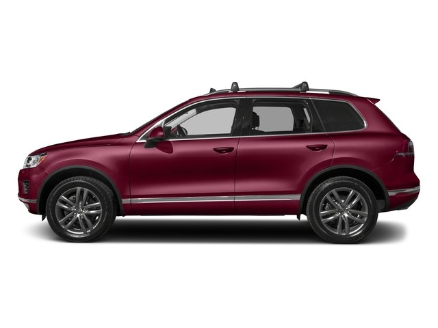 Deep Red Metallic 2017 Volkswagen Touareg Pictures Touareg V6 Wolfsburg Edition photos side view
