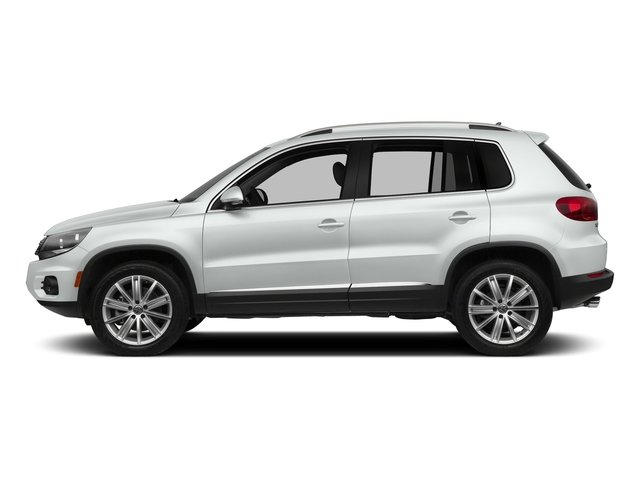 Pure White 2017 Volkswagen Tiguan Limited Pictures Tiguan Limited 2.0T FWD photos side view