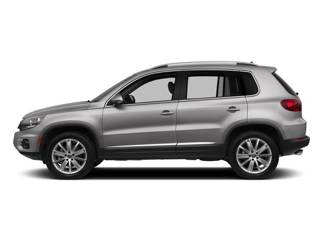 Reflex Silver Metallic 2017 Volkswagen Tiguan Limited Pictures Tiguan Limited 2.0T FWD photos side view