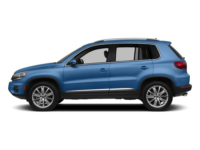 Pacific Blue Metallic 2017 Volkswagen Tiguan Limited Pictures Tiguan Limited 2.0T FWD photos side view