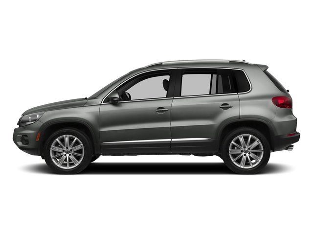 Pepper Gray Metallic 2017 Volkswagen Tiguan Limited Pictures Tiguan Limited 2.0T FWD photos side view