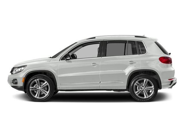 Pure White 2017 Volkswagen Tiguan Pictures Tiguan 2.0T Sport FWD photos side view