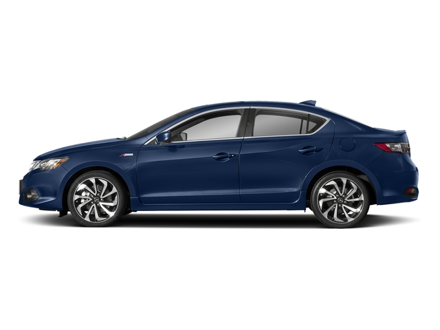 Catalina Blue Pearl 2018 Acura ILX Pictures ILX Sedan 4D Premium A-SPEC photos side view