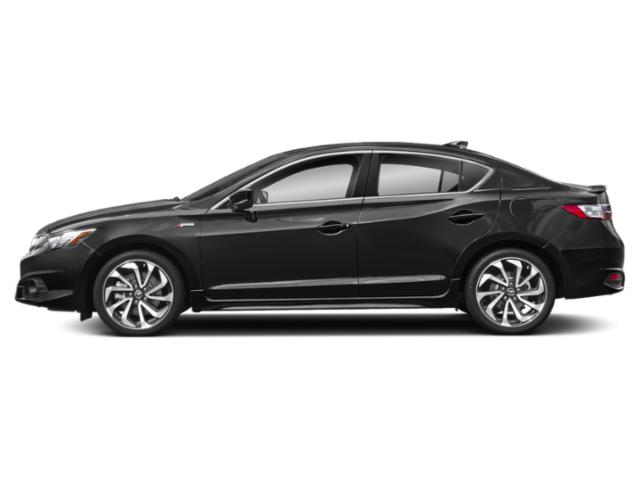 Crystal Black Pearl 2018 Acura ILX Pictures ILX Sedan w/Technology Plus/A-SPEC Pkg photos side view