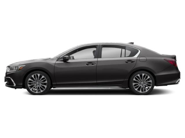 Modern Steel Metallic 2018 Acura RLX Pictures RLX Sedan 4D photos side view