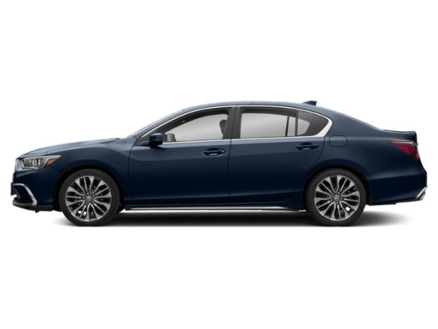 Fathom Blue Pearl 2018 Acura RLX Pictures RLX Sedan 4D photos side view