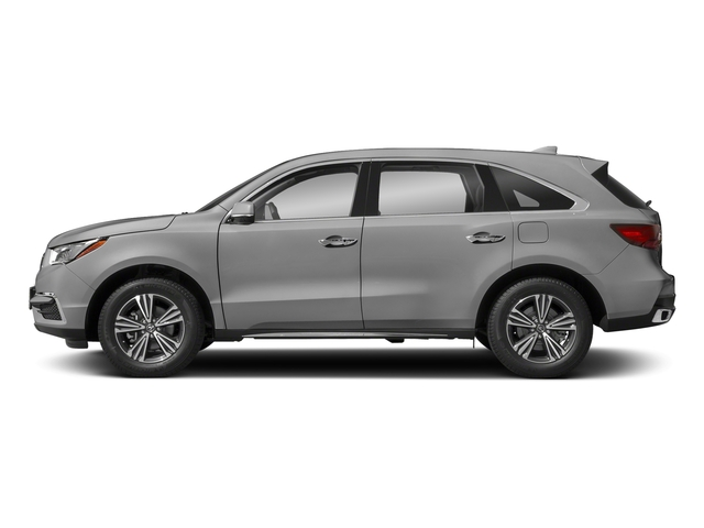Lunar Silver Metallic 2018 Acura MDX Pictures MDX FWD photos side view