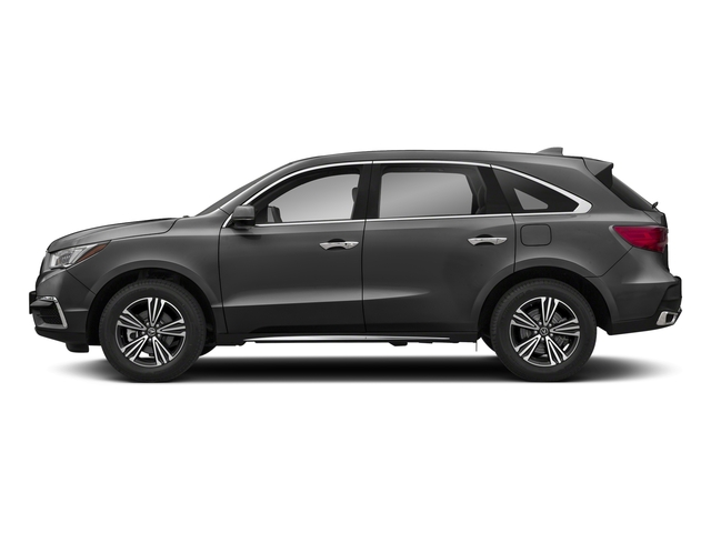 Modern Steel Metallic 2018 Acura MDX Pictures MDX SH-AWD photos side view