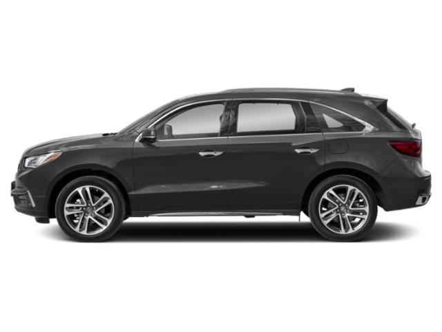 Modern Steel Metallic 2018 Acura MDX Pictures MDX FWD w/Advance/Entertainment Pkg photos side view