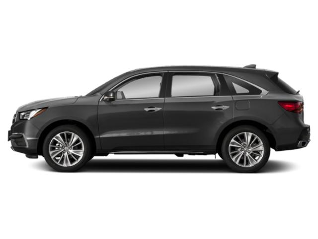 Modern Steel Metallic 2018 Acura MDX Pictures MDX FWD w/Technology Pkg photos side view