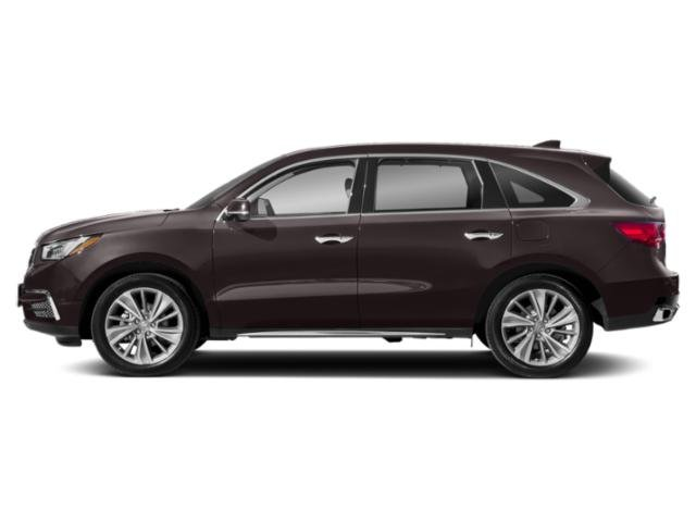 Black Copper Pearl 2018 Acura MDX Pictures MDX Utility 4D Technology DVD 2WD photos side view