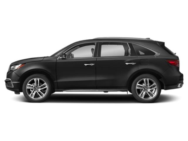 Crystal Black Pearl 2018 Acura MDX Pictures MDX Utility 4D Advance AWD photos side view