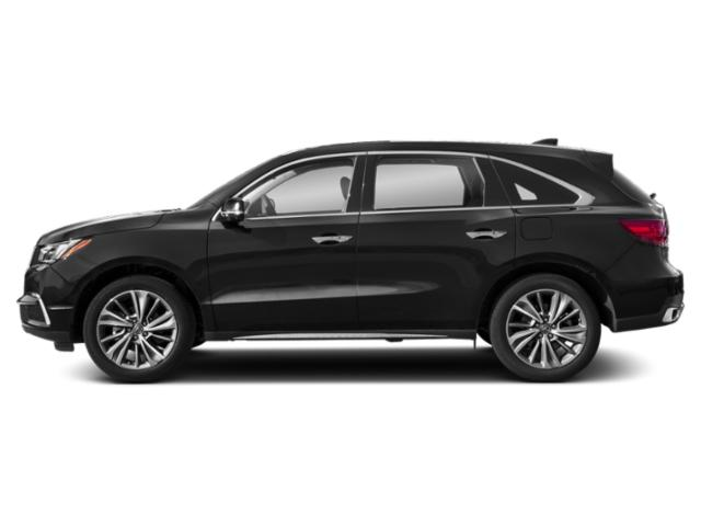 Crystal Black Pearl 2018 Acura MDX Pictures MDX SH-AWD w/Technology Pkg photos side view