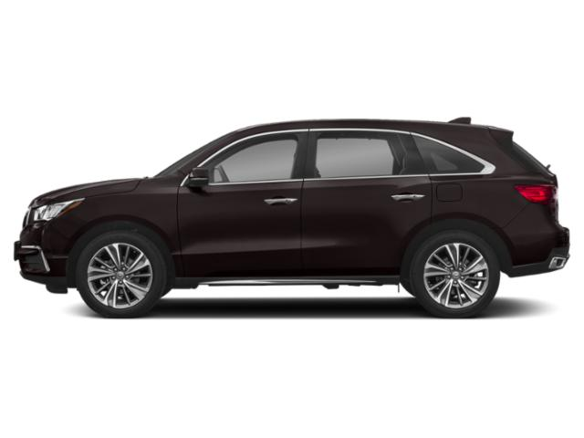 Black Copper Pearl 2018 Acura MDX Pictures MDX SH-AWD w/Technology/Entertainment Pkg photos side view