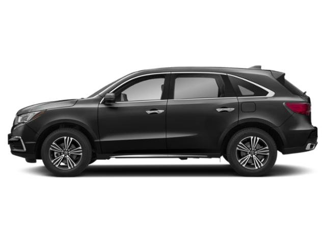 Crystal Black Pearl 2018 Acura MDX Pictures MDX Utility 4D AWD photos side view