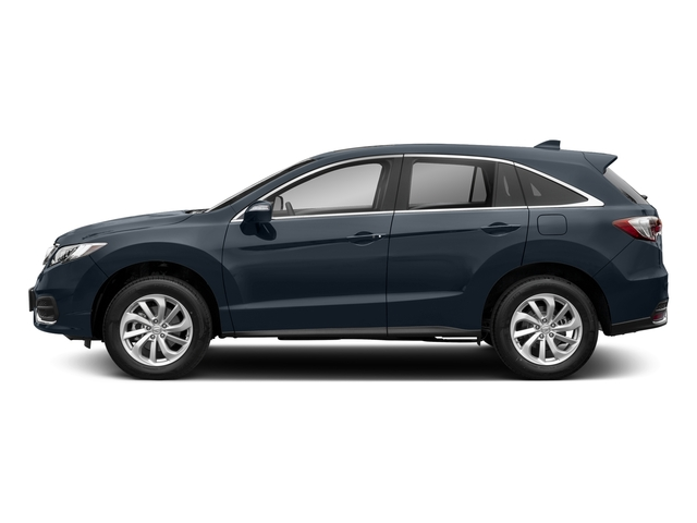 Fathom Blue Pearl 2018 Acura RDX Pictures RDX AWD w/Technology Pkg photos side view