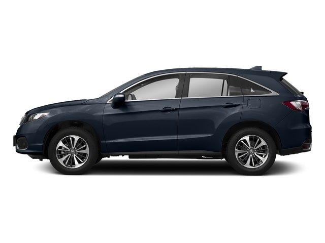 Fathom Blue Pearl 2018 Acura RDX Pictures RDX Utility 4D Advance 2WD V6 photos side view