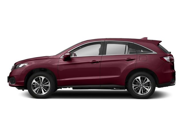 Basque Red Pearl II 2018 Acura RDX Pictures RDX Utility 4D Advance 2WD V6 photos side view