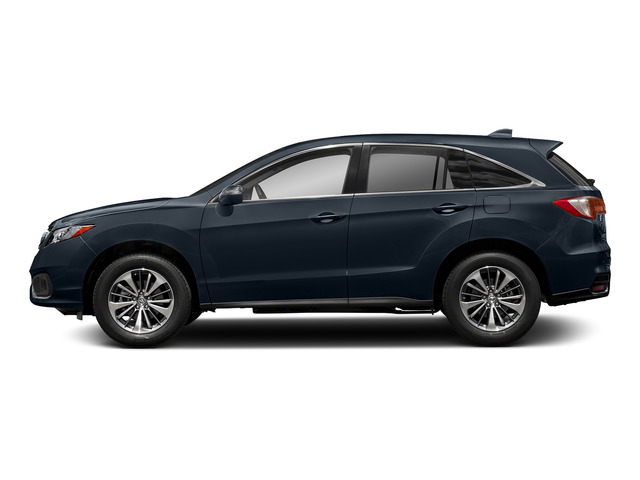 Fathom Blue Pearl 2018 Acura RDX Pictures RDX Utility 4D Advance AWD V6 photos side view