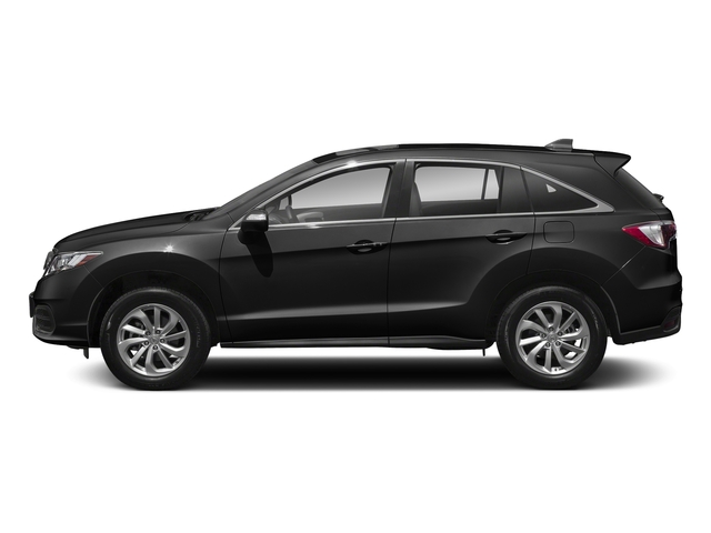 Crystal Black Pearl 2018 Acura RDX Pictures RDX AWD w/AcuraWatch Plus photos side view