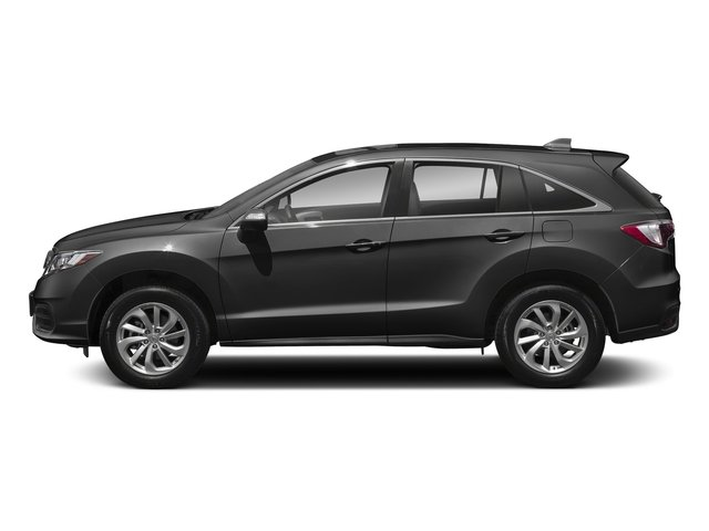 Modern Steel Metallic 2018 Acura RDX Pictures RDX AWD w/AcuraWatch Plus photos side view