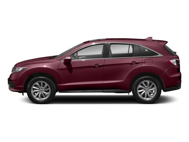 Basque Red Pearl II 2018 Acura RDX Pictures RDX AWD w/AcuraWatch Plus photos side view