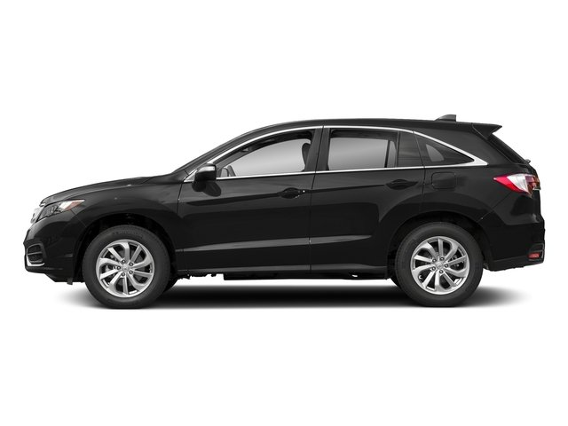 Crystal Black Pearl 2018 Acura RDX Pictures RDX AWD w/Technology/AcuraWatch Plus Pkg photos side view