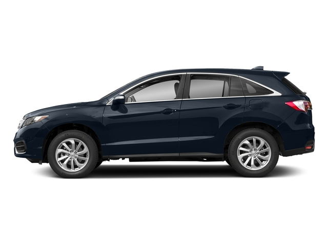 Fathom Blue Pearl 2018 Acura RDX Pictures RDX AWD w/Technology/AcuraWatch Plus Pkg photos side view