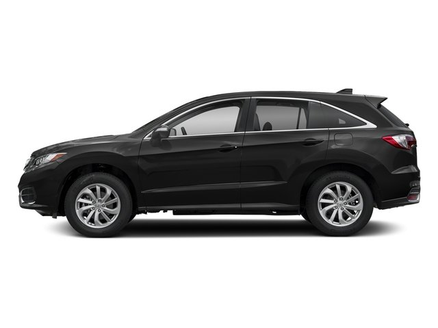 Crystal Black Pearl 2018 Acura RDX Pictures RDX Utility 4D AWD V6 photos side view
