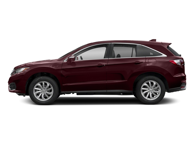 Basque Red Pearl II 2018 Acura RDX Pictures RDX AWD photos side view