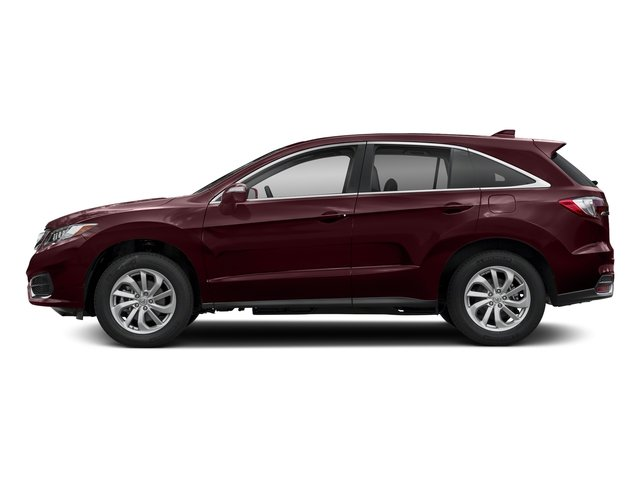 Basque Red Pearl II 2018 Acura RDX Pictures RDX Utility 4D AWD V6 photos side view