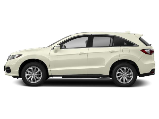 White Diamond Pearl 2018 Acura RDX Pictures RDX FWD w/Technology/AcuraWatch Plus Pkg photos side view