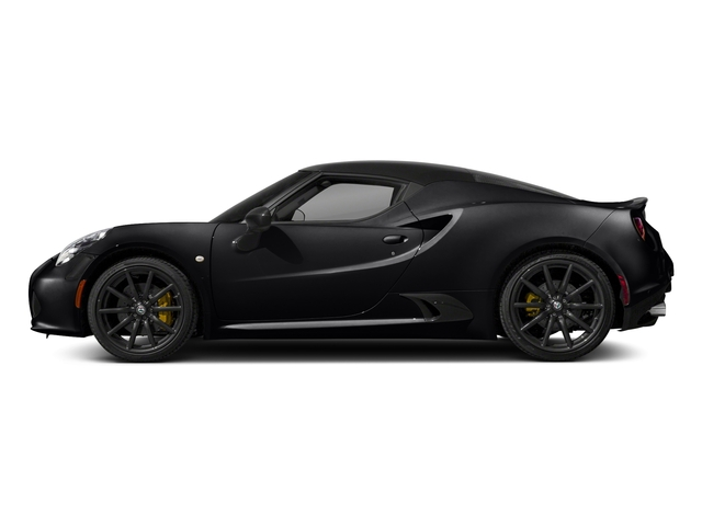 Black 2018 Alfa Romeo 4C Coupe Pictures 4C Coupe photos side view