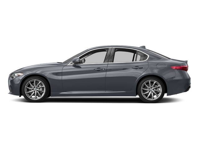 Stromboli Gray Metallic 2018 Alfa Romeo Giulia Pictures Giulia Ti AWD photos side view