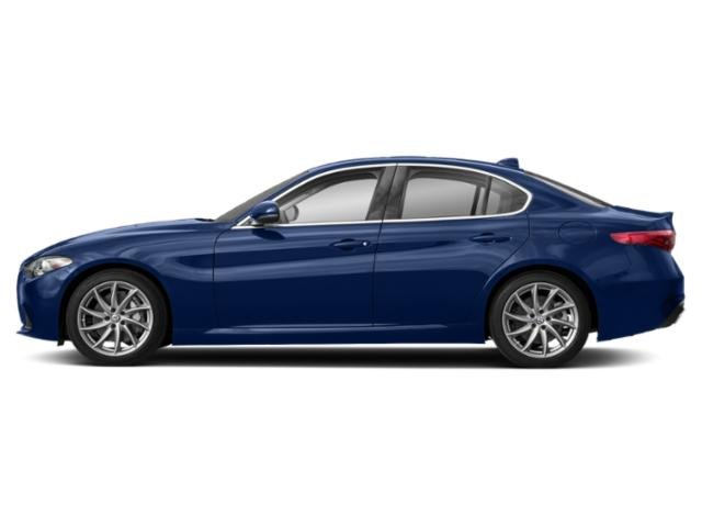 Montecarlo Blue Metallic 2018 Alfa Romeo Giulia Pictures Giulia Ti Lusso RWD photos side view