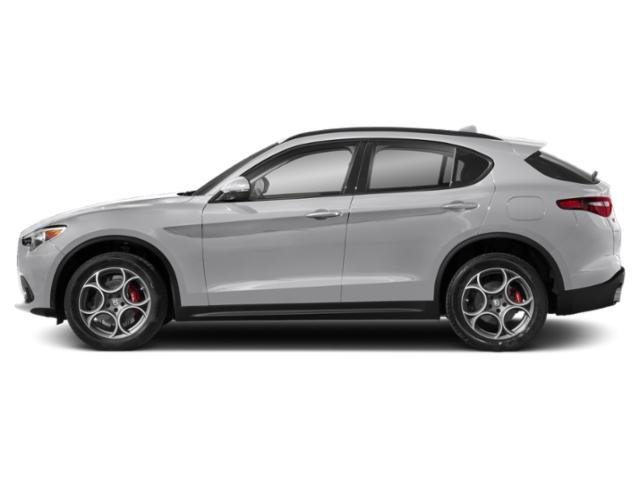Trofeo White Tri-Coat 2018 Alfa Romeo Stelvio Pictures Stelvio Ti Sport AWD photos side view