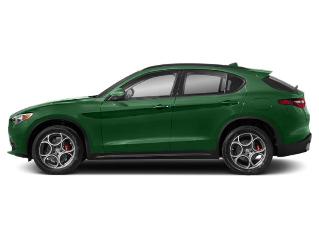 Verde Visconti Metallic 2018 Alfa Romeo Stelvio Pictures Stelvio Ti Sport AWD photos side view