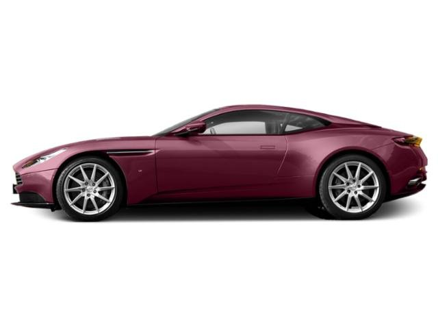 Divine Red 2018 Aston Martin DB11 Pictures DB11 2 Door Coupe V12 photos side view