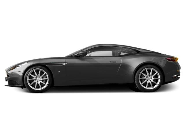 Jet Black 2018 Aston Martin DB11 Pictures DB11 2 Door Coupe V8 photos side view