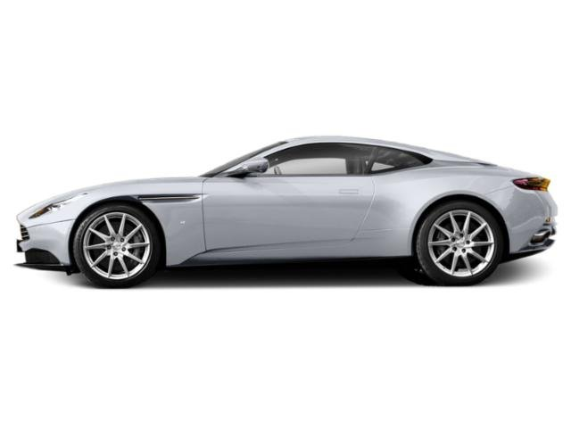 Lightning Silver 2018 Aston Martin DB11 Pictures DB11 2 Door Coupe V12 photos side view