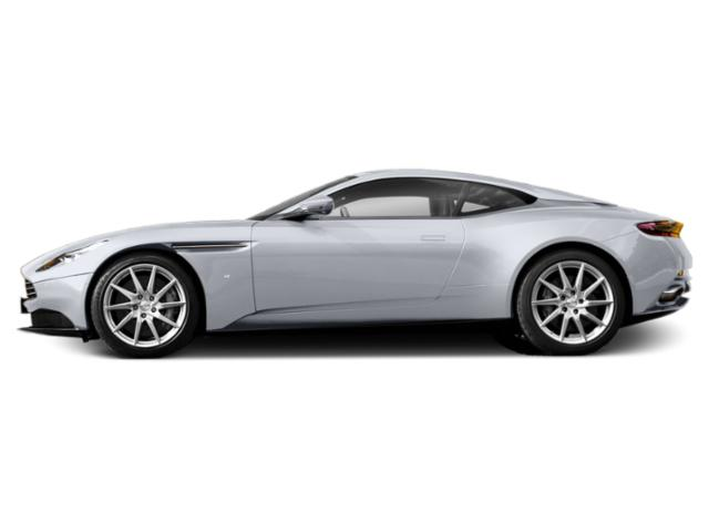Lightning Silver 2018 Aston Martin DB11 Pictures DB11 V12 Coupe photos side view