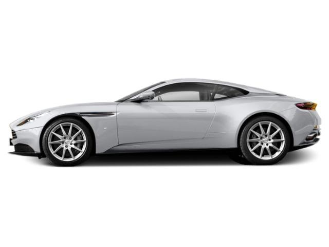 Lunar White 2018 Aston Martin DB11 Pictures DB11 2 Door Coupe V12 photos side view